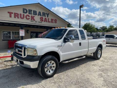 2006 Ford F-250 Super Duty for sale at DEBARY TRUCK SALES in Sanford FL