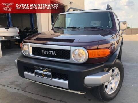 2007 Toyota FJ Cruiser for sale at European Motors Inc in Plano TX