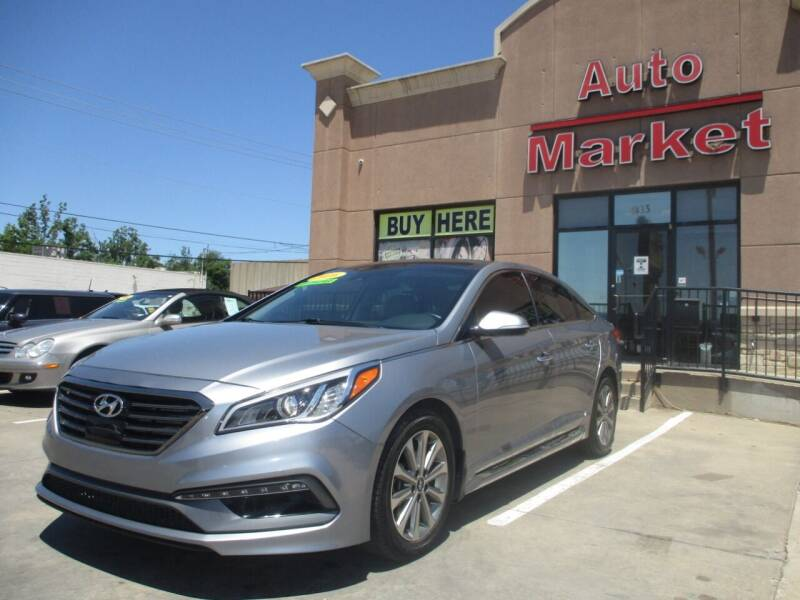 2016 Hyundai Sonata for sale at Auto Market in Oklahoma City OK