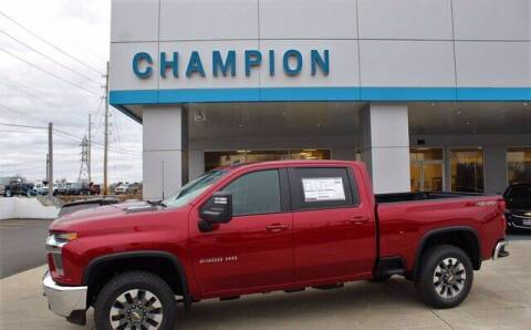2021 Chevrolet Silverado 2500HD for sale at Champion Chevrolet in Athens AL