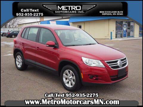 2009 Volkswagen Tiguan for sale at Metro Motorcars Inc in Hopkins MN