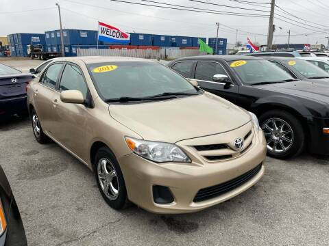 2011 Toyota Corolla for sale at I57 Group Auto Sales in Country Club Hills IL