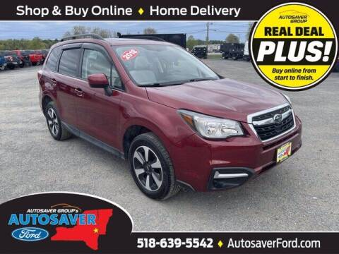 2018 Subaru Forester for sale at Autosaver Ford in Comstock NY