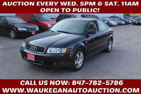 2002 Audi A4 for sale at Waukegan Auto Auction in Waukegan IL