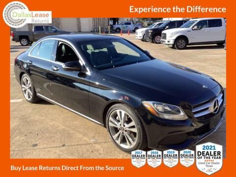 2018 Mercedes-Benz C-Class for sale at Dallas Auto Finance in Dallas TX