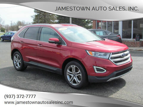 2015 Ford Edge for sale at Jamestown Auto Sales, Inc. in Xenia OH
