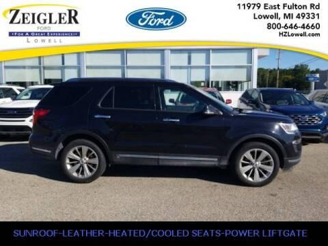 2019 Ford Explorer for sale at Zeigler Ford of Plainwell- michael davis in Plainwell MI