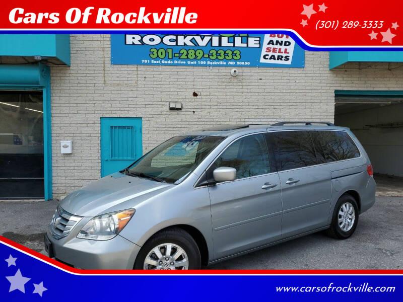 2010 Honda Odyssey for sale at Cars Of Rockville in Rockville MD