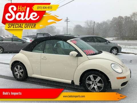 2006 Volkswagen New Beetle for sale at Bob's Imports in Clinton IL