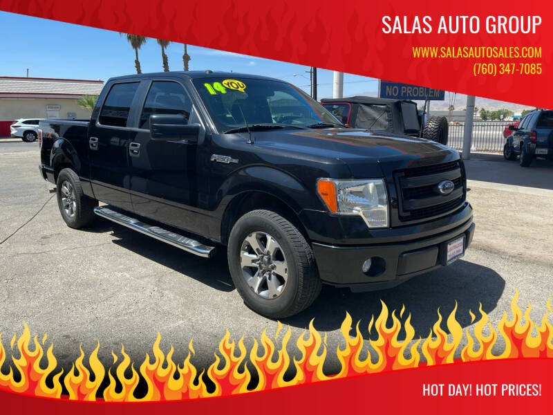 2014 Ford F-150 for sale at Salas Auto Group in Indio CA