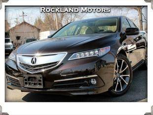 2017 Acura TLX for sale at Rockland Automall - Rockland Motors in West Nyack NY