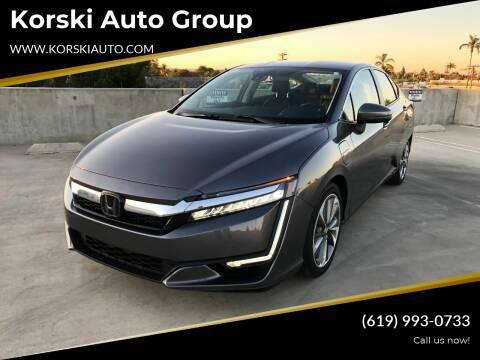 2018 Honda Clarity Plug-In Hybrid for sale at Korski Auto Group in San Diego CA