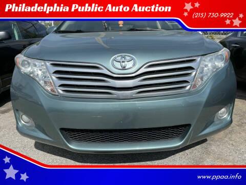2010 Toyota Venza for sale at Philadelphia Public Auto Auction in Philadelphia PA