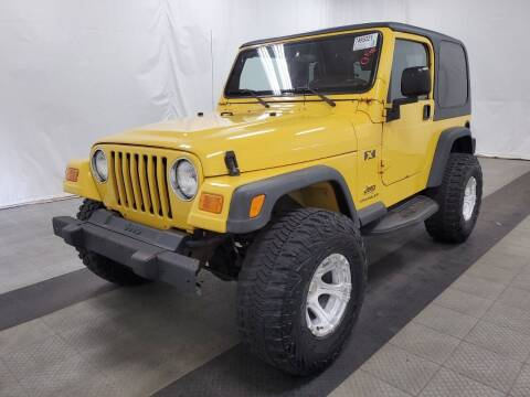 2003 Jeep Wrangler for sale at Tumbleson Automotive in Kewanee IL