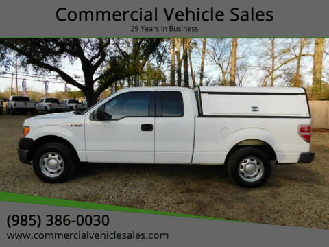 2013 Ford F-150 for sale at Commercial Vehicle Sales in Ponchatoula LA