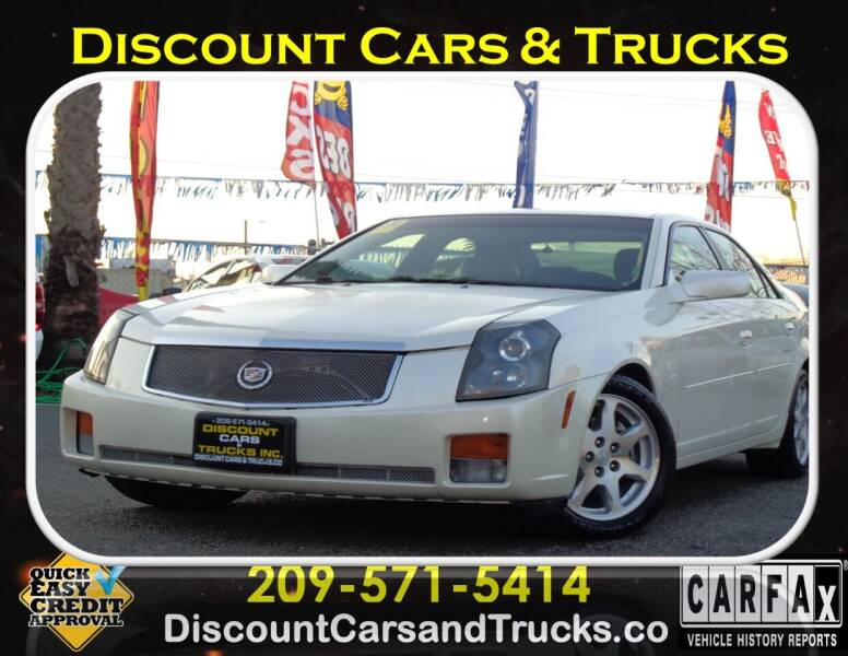 2004 Cadillac CTS for sale at Discount Cars & Trucks in Modesto CA