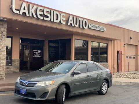 2012 Toyota Camry for sale at Lakeside Auto Brokers Inc. in Colorado Springs CO