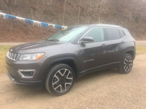 2018 Jeep Compass for sale at DONS AUTO CENTER in Caldwell OH