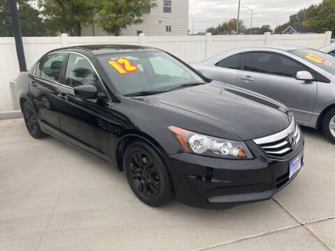 2012 Honda Accord for sale at Allstate Auto Sales in Twin Falls ID