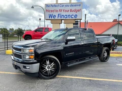 2014 Chevrolet Silverado 1500 for sale at American Financial Cars in Orlando FL