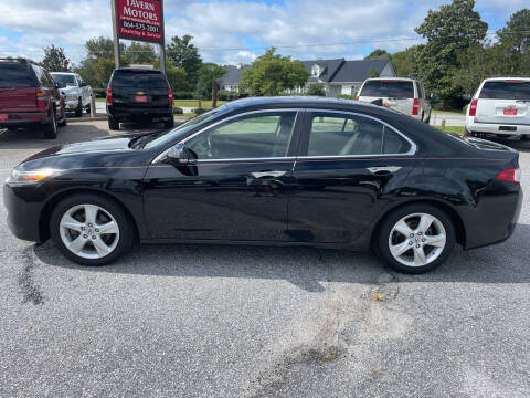 2009 Acura TSX for sale at TAVERN MOTORS in Laurens SC