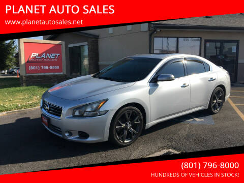 2014 Nissan Maxima for sale at PLANET AUTO SALES in Lindon UT