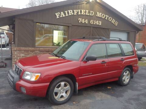 2001 Subaru Forester for sale at Fairfield Motors in Fort Wayne IN