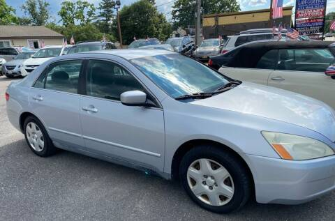 2005 Honda Accord for sale at Primary Motors Inc in Commack NY