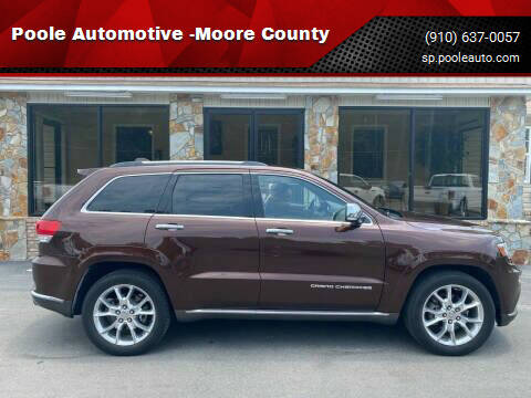 2014 Jeep Grand Cherokee for sale at Poole Automotive -Moore County in Aberdeen NC