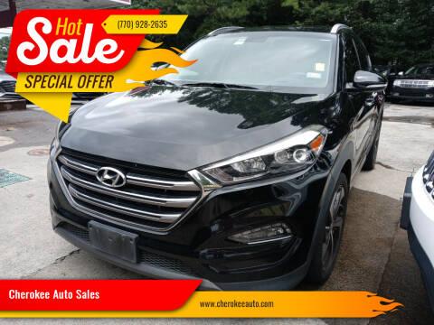 2016 Hyundai Tucson for sale at Cherokee Auto Sales in Acworth GA