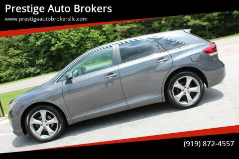2013 Toyota Venza for sale at Prestige Auto Brokers in Raleigh NC
