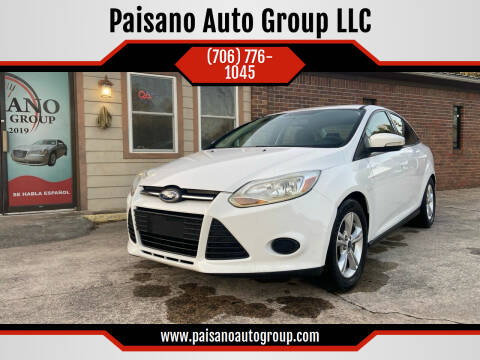 2014 Ford Focus for sale at Paisano Auto Group LLC in Cornelia GA