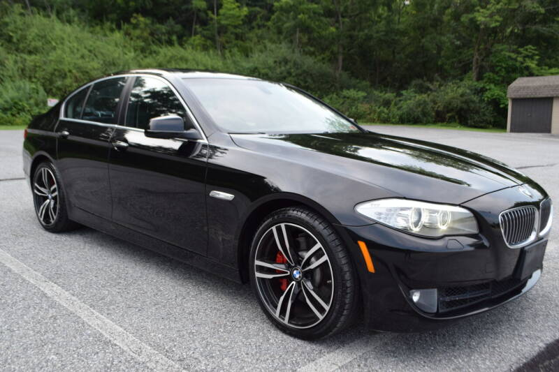 2013 BMW 5 Series for sale at CAR TRADE in Slatington PA