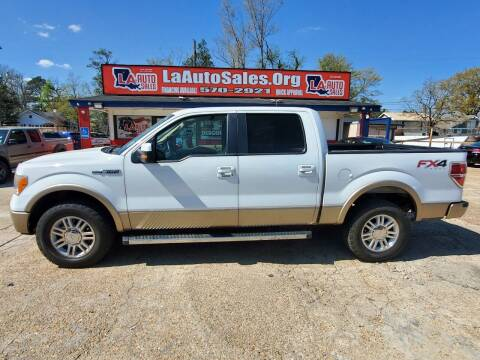 2012 Ford F-150 for sale at LA Auto Sales in Monroe LA