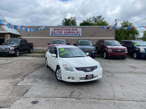 2010 Nissan Altima for sale at Brothers Auto Group in Youngstown OH