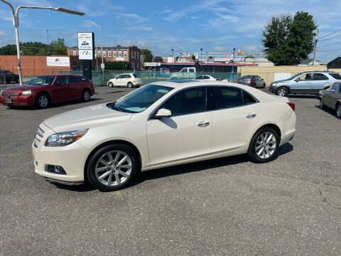2013 Chevrolet Malibu for sale at LINDER'S AUTO SALES in Gastonia NC