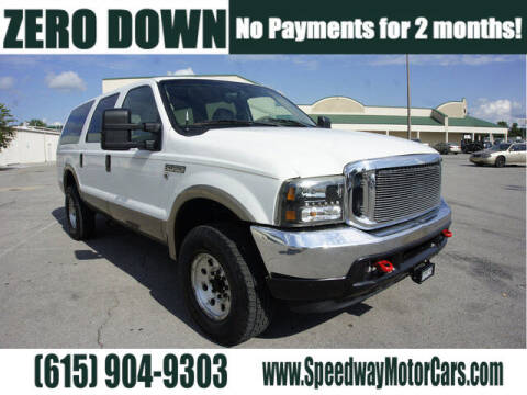 2000 Ford Excursion for sale at Speedway Motors in Murfreesboro TN