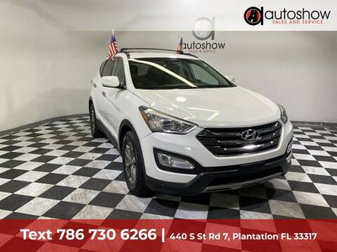 2014 Hyundai Santa Fe Sport for sale at AUTOSHOW SALES & SERVICE in Plantation FL