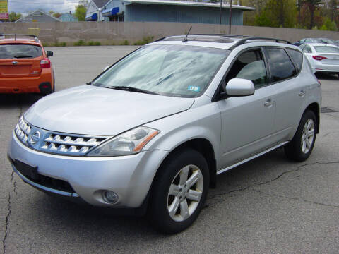 2007 Nissan Murano for sale at North South Motorcars in Seabrook NH