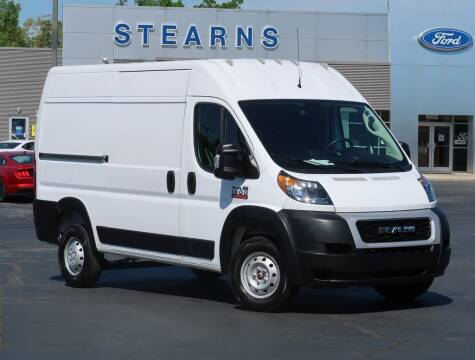 2020 RAM ProMaster Cargo for sale at Stearns Ford in Burlington NC