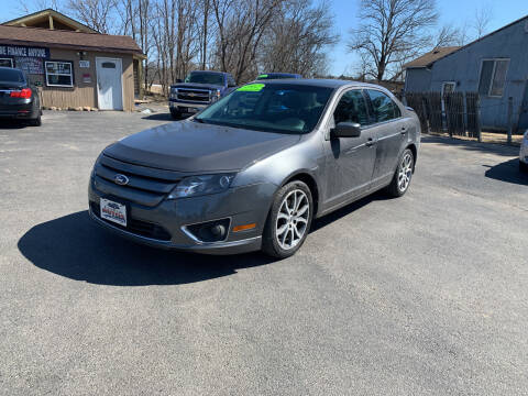 2012 Ford Fusion for sale at Excellent Autos in Amsterdam NY