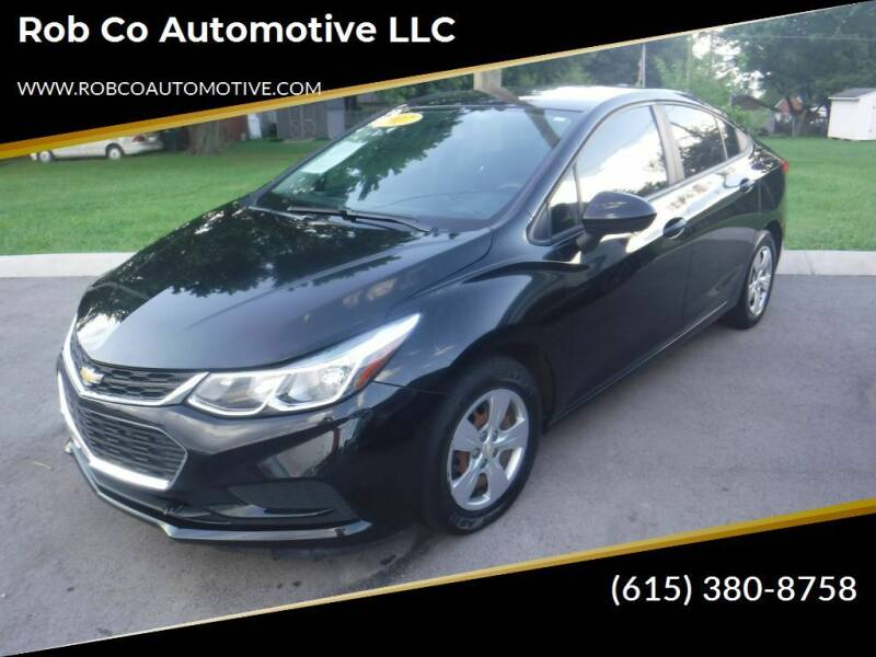 2017 Chevrolet Cruze for sale at Rob Co Automotive LLC in Springfield TN