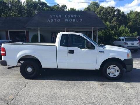 2008 Ford F-150 for sale at STAN EGAN'S AUTO WORLD, INC. in Greer SC