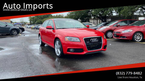 2012 Audi A3 for sale at Auto Imports in Houston TX