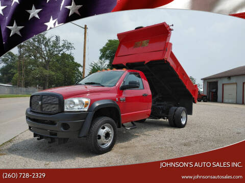 2008 Dodge Ram Chassis 5500 for sale at Johnson's Auto Sales Inc. in Decatur IN