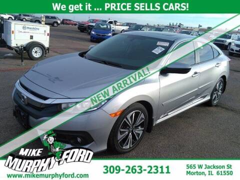 2017 Honda Civic for sale at Mike Murphy Ford in Morton IL