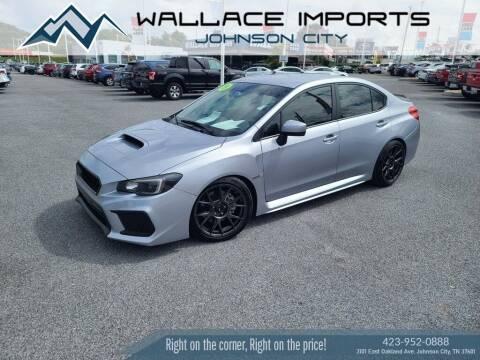 2019 Subaru WRX for sale at WALLACE IMPORTS OF JOHNSON CITY in Johnson City TN