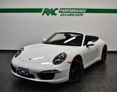 2013 Porsche 911 for sale at RAC Performance in Carrollton TX