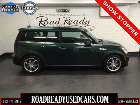 2012 MINI Cooper Clubman for sale at Road Ready Used Cars in Ansonia CT