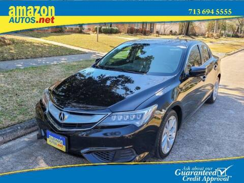 2017 Acura ILX for sale at Amazon Autos in Houston TX